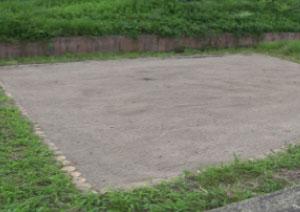 砂場清掃事業施工後